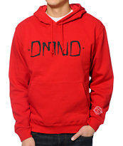 Diamond Supply Co Gang Red Pullover Hoodie