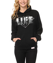 Diamond Supply Co Girls NY Diamond Life Black Pullover Hoodie