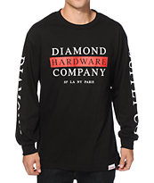 Diamond Supply Co Hardware Stack Long Sleeve T-Shirt