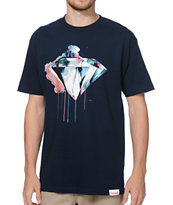 Diamond Supply Co I Art U Navy Tee Shirt