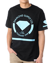 Diamond Supply Co I Shine You Shine Black Tee Shirt
