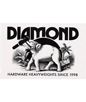 Diamond Supply Co Ivory Sticker
