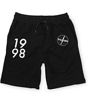 Diamond Supply Co Lightning Sweat Shorts