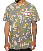 Diamond Supply Co My Country Camo Tee Shirt