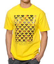 Diamond Supply Co NYC Excess Yellow Tee Shirt