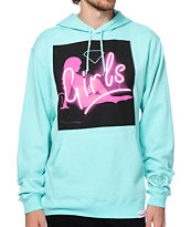 Diamond Supply Co Neon Girls Hoodie