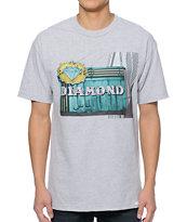 Diamond Supply Co Neon Grey T-Shirt