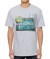 Diamond Supply Co Neon Grey Tee Shirt