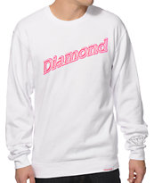 Diamond Supply Co Neon Script Crewneck Sweatshirt
