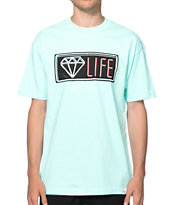 Diamond Supply Co Neon Tee Shirt
