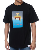 Diamond Supply Co No.1 DMND Black Tee Shirt