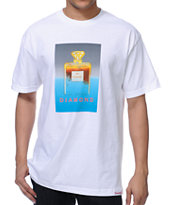 Diamond Supply Co No.1 DMND White Tee Shirt