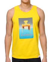 Diamond Supply Co No.1 Diamond Yellow Tank Top