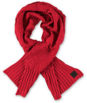 Diamond Supply Co OG Checker Red Scarf