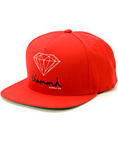 Diamond Supply Co OG Logo Snapback Hat