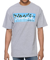 Diamond Supply Co OG Palms Heather Grey Tee Shirt