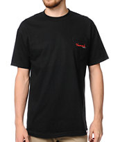 Diamond Supply Co OG Script Black Pocket Tee Shirt