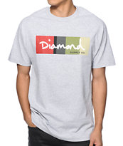 Diamond Supply Co OG Script Colors Tee Shirt