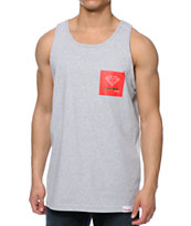 Diamond Supply Co OG Sign Grey Tank Top