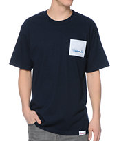 Diamond Supply Co OG Sign Navy Tee Shirt