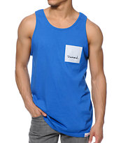 Diamond Supply Co OG Sign Royal Blue Tank Top