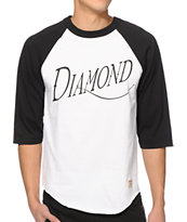 Diamond Supply Co Old Script Baseball T-Shirt