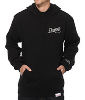 Diamond Supply Co Old Script Black Hoodie