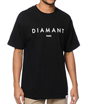 Diamond Supply Co Paris Black Tee Shirt
