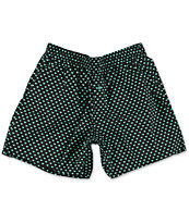 Diamond Supply Co Polka Dot Black & Diamond Blue Boxers