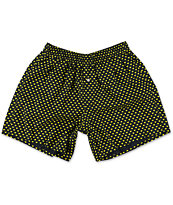 Diamond Supply Co Polka Dot Navy Blue & Yellow Boxers