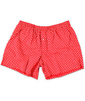 Diamond Supply Co Polka Dot Red & White Boxers
