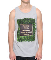 Diamond Supply Co Private Country Club Grey Tank Top