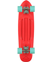 Diamond Supply Co Red Cruiser Complete Skateboard