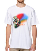 Diamond Supply Co Reflection White Tee Shirt