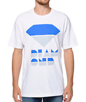 Diamond Supply Co Retro White Tee Shirt