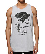 Diamond Supply Co Rose Brilliant Tank Top