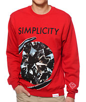 Diamond Supply Co Simplicity 2 Crew Neck Sweatshirt