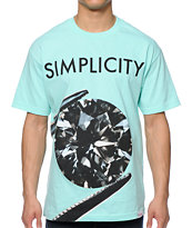 Diamond Supply Co Simplicity 2 Mint Tee Shirt