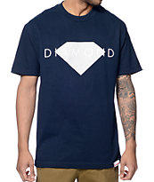 Diamond Supply Co Solid Navy T-Shirt