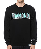 Diamond Supply Co Split Bars Crew Neck Sweatshirt