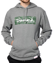 Diamond Supply Co Tonal Camo Box Logo Hoodie