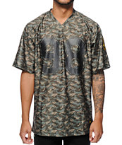Diamond Supply Co Tonal Camo Football Jersey