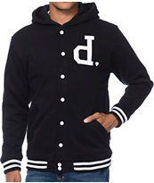 Diamond Supply Co Un Polo Black Fleece Jacket