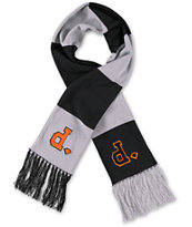 Diamond Supply Co Unpolo Grey & Black Scarf