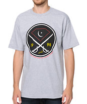 Diamond Supply Co Victory Swords Grey Tee Shirt