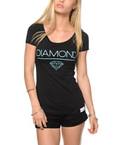 Diamond Supply Co White Space Black Tee Shirt