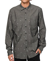 Diamond Supply Co Workshirt Long Sleeve Button Up Shirt