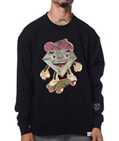 Diamond Supply Co X Ben Baller Lil Cutty Black Crew Neck Sweatshirt