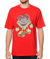 Diamond Supply Co X Ben Baller Lil Cutty Red Tee Shirt