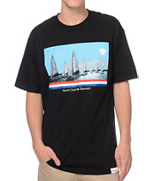 Diamond Supply Co Yacht Club De Diamant Black Tee Shirt